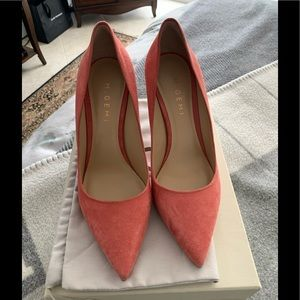NEW in box M Gemi 38.5 suede heels